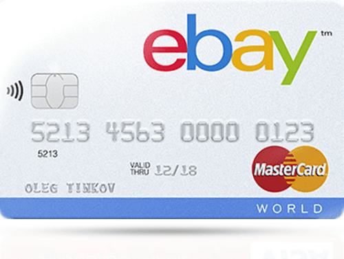 Кредитная карта «eBay» от Тинькофф Банка